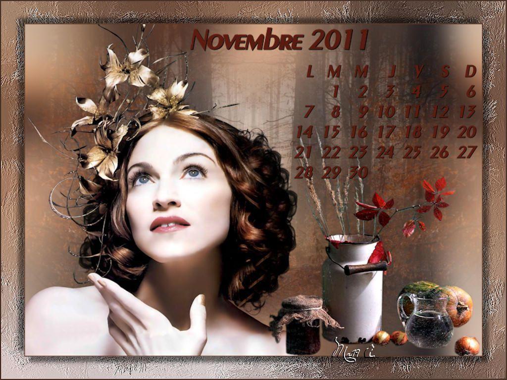 Calendrier fond cran novembre 2011 for Fond ecran novembre